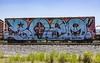(o texano) Tags: houston texas graffiti trains freights bench benching bozo wholecar
