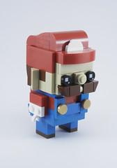 Mario (Mr. Brickman) Tags: mario nintendo lego brickheadz