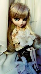 New eyes (Usatii~) Tags: new eyes dollbr doll green cold flower lachesis pullipalicesteampunk