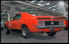 Ford Mustang Mach 1 (zweiblumen) Tags: fordmustangmach1 1970 classic vintage american car canoneos50d canonef35mmf2 canonspeedlite430exii polariser zweiblumen man351c