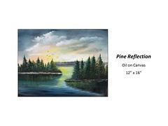 """Pine Reflection • <a style=""""font-size:0.8em;"""" href=""""https://www.flickr.com/photos/124378531@N04/36998403996/"""" target=""""_blank"""">View on Flickr</a>"""