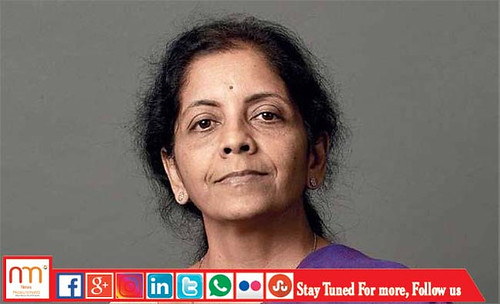 From flickr.com: Defence Minister Nirmala Sitharaman {MID-173984}