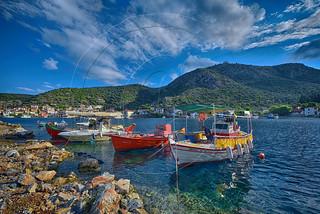 Λιμανάκι Αγίας Κυριακής Port of Saint Kyriaki