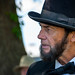 Abraham Lincoln actor visits Camp Nelson, Kentucky