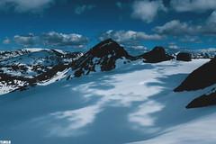 """When shadows paint the scenes"" - Jotunheimen Mountains - Norway (TLMELO) Tags: montanha mountain mountaineer mount noruega norway norwegian keepwalking justdoit walking neve snow impossibleisnothing girl woman"