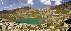 Lac de la Partie (trekmaniac-is-back) Tags: alpes ete2017 france j1 pano refugeorgèrerefugepécletpolset tourdesglaciersdelavanoise