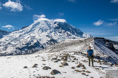 Me and Rainier (Corvus707) Tags: pacificnorthwest pacific mountains roadtrip hike hiking nature wildlife naturephotography landscape landscapephotography canon canon7dmarkii canonphotography mountrainier mountrainiernationalpark nationalpark optoutside