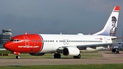 LN-NIB (AnDyMHoLdEn) Tags: norwegian 737 egcc airport manchester manchesterairport 23l