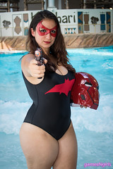 Swimsuit Red Hood cosplay (The Doppelganger) Tags: redhood cosplay cosplayer swimsuit sexycosplay dccomics thicc colossalcon colossalconeast colossalconeast2017