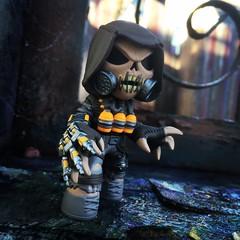 Scarecrow Mystery Mini (pullip_junk) Tags: mysterymini funko scarecrow dccomics roguesgallery villian batman