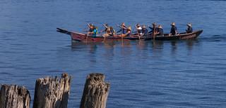 Laxaynem Salish Traditional Canoe