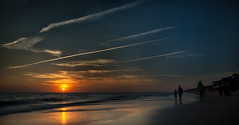 Autumn is coming (jsanchezq65) Tags: autumn beach clouds sunset sunsets sun warm longexposure water ghost atardecer sol playa