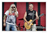 Al and Norm (Seven_Wishes) Tags: newcastleupontyne northshields canoneos5dmarkiv canonef70200mmf28lisii jo outdoor photoborder group rockers music musicians thismachine alan norman vocalist singer guitar guitarist gibsonguitar lespaul people rock candid concert newcastlemayfair red views2k 2017