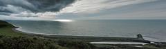 tanybwlch pano (www.atgof.co) Tags: tanybwlch cardigan bay panorama beach traeth aberystwyth ceredigion wales seascape morlun landscape clouds stormy