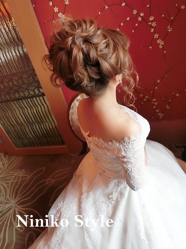 婚紗,髮型,2017,新娘,髮飾,婚宴,頭紗,飯店,鮮花,捧花