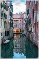 Reflections (JDWCurtis) Tags: reflection reflections canal water waterway waterfront venice venezia italy italian italianstreet city cityscape citystreet holiday solo solotraveller soloholiday door europe european