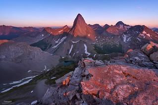 'Sabre Tooth Sunset' - Mt Birdwood, Kananaskis