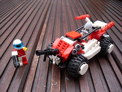 Żaba - Attack Buggy (alternate weaponry) (Śląski Hutas) Tags: lego moc bricks buggy poland polska futuristic scifi modification