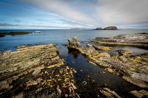 Rocky Tides - Balintoy Harbor, Northern Ireland.