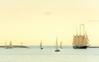 Returning to Port (S/V Denis Sullivan) (theReedHead) Tags: sonya6000 sony55210mmf4563 seascape realism atmospheric sailingships sailingvessels milwaukeelakefront milwaukee wisconsin threemastedschooner denissullivan thereedhead milwaukeephotographers wisconsinphotographers sailboats boats
