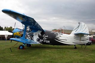 SP-FGR Antonov AN-2 Pairi Daiza Foundation @ Schaffen Diest 12-Aug-2017 by Johan Hetebrij