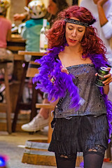 ... Irrikitaldia 2017 ... (Lanpernas 3.0) Tags: femme belleepoque mujer donna chica girl irrikitaldia 2017 carnaval parade fiesta saintsebastien donostia street pretty pelirroja