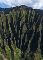 Na'Pali Coast, Kauai (benereshefsky) Tags: kauai hawaii island garden gardenisland napali coast ocean beach cliffs green canyon waimea kalalau travelphotography travel travelphotographer helicopter waterfall kokee lookout overlook fins puuokila valley