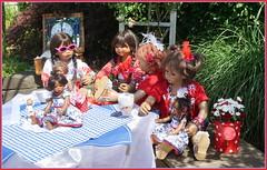 Den Tag genießen ... (Kindergartenkinder) Tags: dolls himstedt annette park blume garten kindergartenkinder essen grugapark personen blumen sanrike milina sommer kindra setina leleti