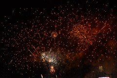 Fireworks on August 6 and 7