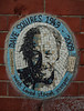 Dave Squires 1949-2009 (Steve Taylor (Photography)) Tags: davesquires streetsweeper southbank mosaic portrait art memorial tribute wall black blue brown white man uk gb england greatbritain unitedkingdom london brick