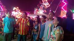 Con los jovenes de la parroquia en las fiestas de San Camilo
