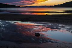 more lakes more sunsets (Stefano Rugolo) Tags: stefanorugolo pentax k5 sweden hälsingland smcpentaxda1855mmf3556alwr landscape lake sunset reflections colors summer dellensjöarna norrdellen sky beach water