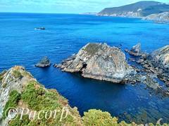 Acantilados de Loiba. (pacopacoo) Tags: mar atlantico ortegal loiba galicia noroeste landscape sea blue rocas stones relax scape escapada turismo
