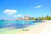 Ocho Rios Bay Beach (Paul Thomas Photos) Tags: beach beachday beachstrip beachscape landscape landscapephotography canonphotography photography scenic beachphotography ochorios ochoriosbaybeach jamaica tropics tropical islandlife sceniclandscape ocean sea shoreline horizon