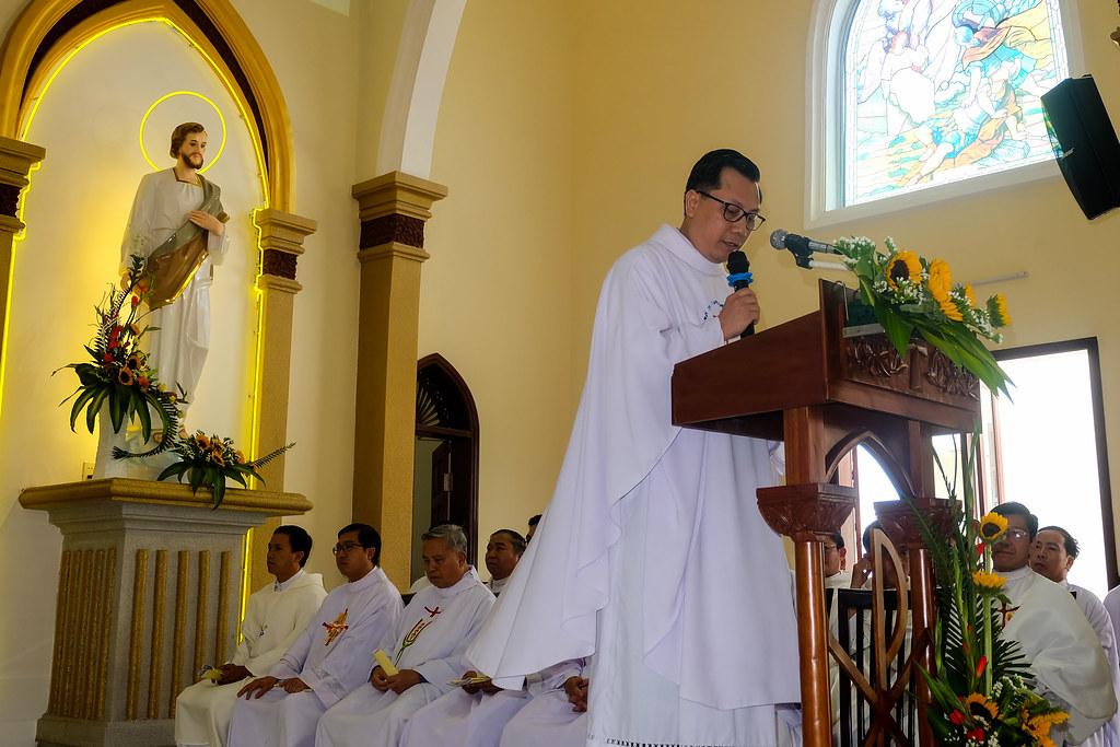 Thánh lễ tạ ơn khánh thành nhà thờ Hòa Cường – Giáo phận Đà Nẵng - Ảnh minh hoạ 60