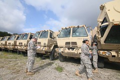 New Jersey National Guard (The National Guard) Tags: new jersey nj njng ng nationalguard national guard guardsman guardsmen soldier soldiers us army united states america usa vehicles transportation inspection deploy florida hurricane irma preparations prepare respond military troops 2017