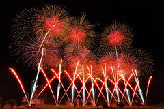 Koga Fireworks in 2017 (cate♪) Tags: fireworks summer koga 2017 第12回古河花火大会 ゴルフ場 golfcourse golf course