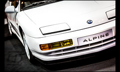 Alpine Renault A610 Albertville Winter Olympic Game (1992) (Laurent DUCHENE) Tags: retromobile 2017 alpine renault a610 albertville winterolympicgame