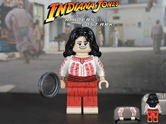 Custom LEGO Raiders of the Lost Ark: Marion Ravenwood (lego wolf 42299) Tags: lego custom raidersofthelostark indianajones