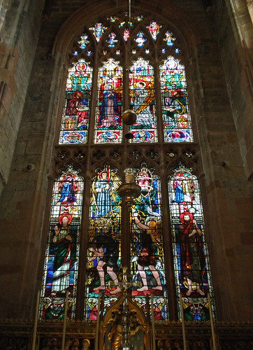 St John the Baptist, Coventry. East Window