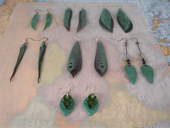 earrings summer 17 group_01 (becktesch) Tags: bike bicycle jewerly earring earrings cycle cycling becky tesch becktesch chain link recycle reclaim repurpose reuse upcycle trash garbage trashion fashion rubber tube bead road women lady chic girl tough industrial stay chainstay mountain mountainbike adventure trail trailtime rad innertube chainstayjewelry chainstayjewelrydesign dangle earlobe