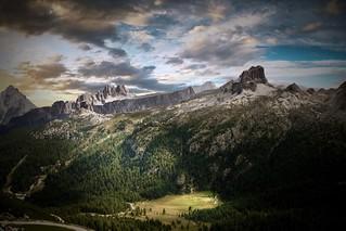 Panorama dal Lagazuoi - Dolomites