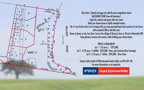 288 (lot 3) Glen Williams Road, Clarence Town NSW