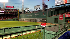 Fenway Park - Green Monster and Red Sox Bullpen (Stan S. Gallery) Tags: red sox baseball fenway park