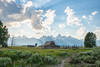 A Homestead HDR (Man in Hat Photography) Tags: outdoors nature sky outside plants green trees clouds forest mormonrow tetons antelopeflats
