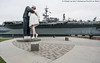 Embracing Peace (20170725-DSC07864) (Michael.Lee.Pics.NYC) Tags: sandiego embracingpeace unconditionalsurrender statue sculpture bronze ussmidway museum aircraftcarrier wwii bobhope greatestgenerationwalk embarcadero harbordrive sony a7rm2 zeissloxia21mmf28