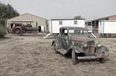 Pioneer Acres Vintage Farm Show (Sherlock77 (James)) Tags: alberta pioneeracres irricana classiccar ford modela classictractor