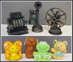 1. Flea Market Finds (Foxy Belle) Tags: flea market finds used old toys second hand doll strawberry shortcake pencil sharpener