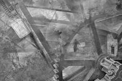 Another pathway (Eddie /.:) Tags: modernsurrealism surrealismo modernsurrealist surrealist surreallife bwsurreal surrealphoto gears bridge house canal canallock zepplin nikond90 hss dreams dreaming dream dreamon bw