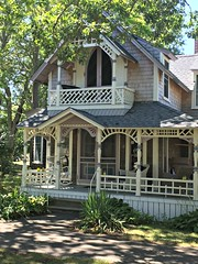 Porch (djpalmer1953) Tags: porches victorian residentialarchitecture oakbluffs marthasvineyard massachusetts